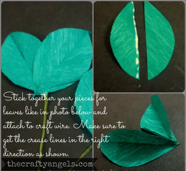 Crepe paper flower tutorial (4)