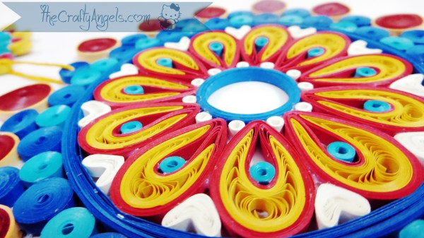 Quilled Malaysian flower tutorial (11)