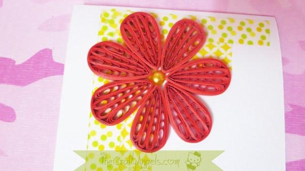 Quilling comb flower tutorial (18)