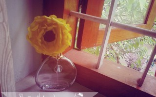 DIY Crepe gerbera flower tutorial (3)