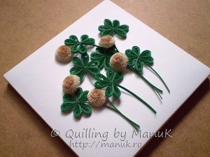 quilling tutorial quilled clover flower