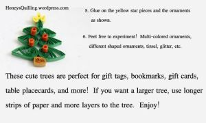 quilling tutorial quilled christmas tree