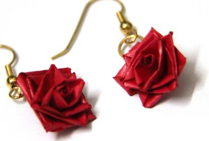 quilling tutorial quilled rose earrings tutorial