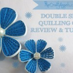Double Sided Quilling Comb review & Tutorial
