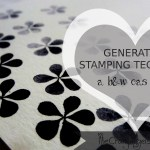 Generation Stamping Technique: Black &white CAS Card