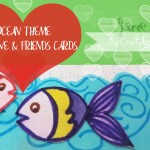 Ocean theme handmade greeting card