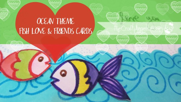 Ocean theme greeting card (17)