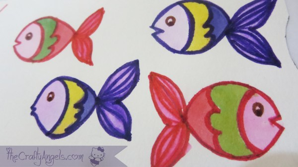 Ocean theme greeting cards tutorial  (21)