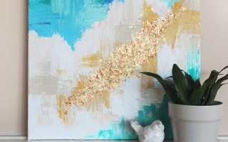 Decorate home interiors with paintings