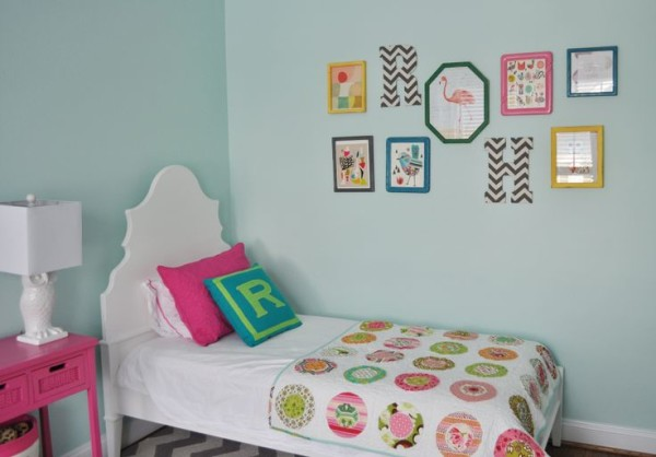 decorate home interior with photo frames