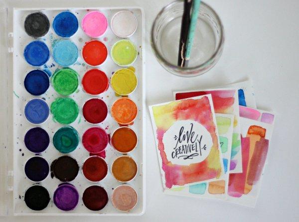 Cardmaking in india, cardmaking tutorial, cardmaking for beginners, watercolor cards,watercoloring