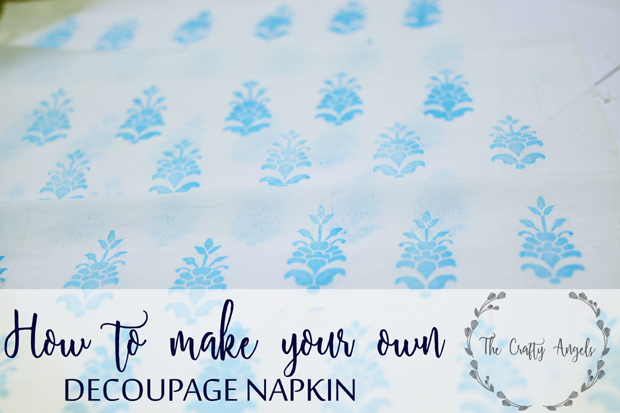 make decoupage napkin, decoupage technique, india decoupage, indian decor, home decor, DIY craft