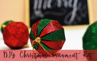 itsybitsy christmas, itsy bitsy india, diy ball ornament, DIY christmas ball ornament, DIY christmas decor, Christmas decor, Christmas craft, Christmas tree ornament