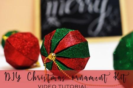 itsybitsy christmas, itsy bitsy india, diy ball ornament, DIY christmas ball ornament, DIY christmas decor, Christmas decor, Christmas craft, Christmas tree ornament