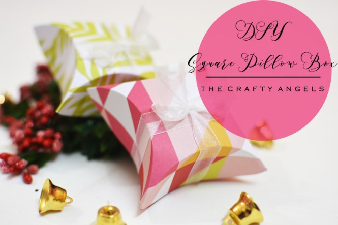 pillow box, pillow box tutorial, pillow box template, square pillo box, holiday gifting, gifting, gift wrappinf ideas, gift packing tutorial, christmas craft, paper origami, origami boxes