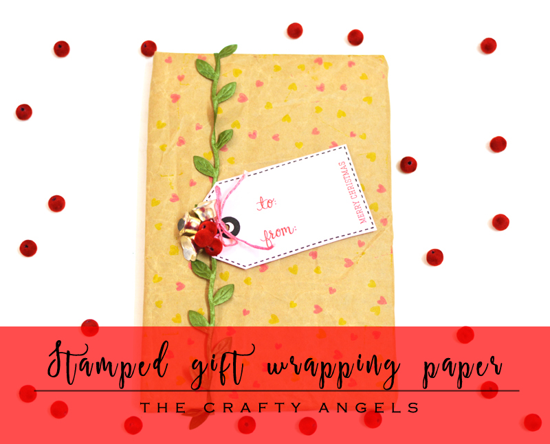 christmas crafts india, christmas india, giftwrapping idea, DIY gift wrapping, DIY stamped wrapping paper, DIY wrapping paper, holiday gifting ideas, gift wrapping, how to wrap gift