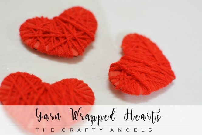 yarn wrapped hearts, hearts craft, valentines day craft, valentines gift, diy heart, diy heart, paper heart, yarn heart