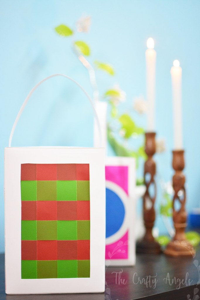 Easiest way to make a diy paper lantern for diwali for Paper lantern tutorial