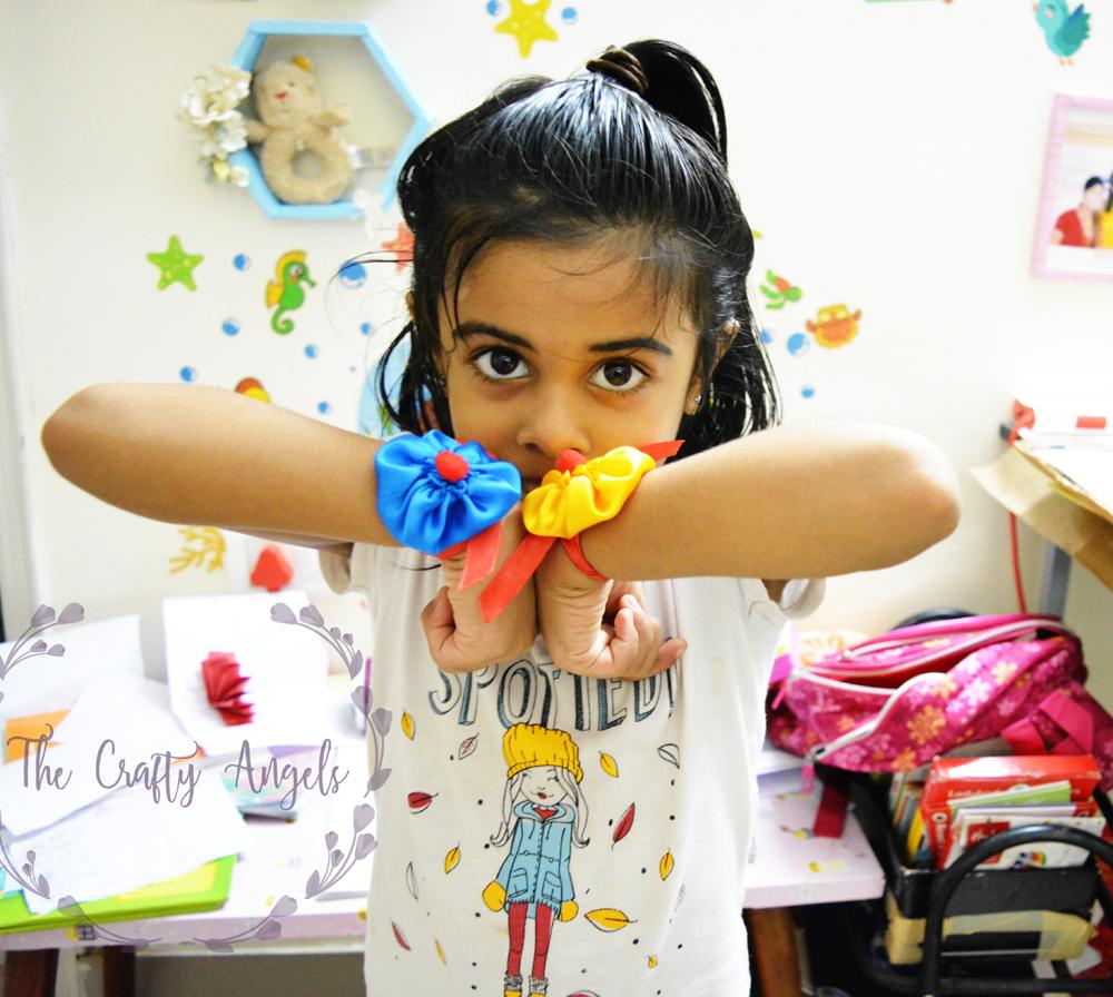 Eco friendly handmade rakhi , rakhsabandhan kids activity, DIY rakhi, rakhi making tutorial, rakhi ideas, rakhi designs, fabric rakhi, quirky rakhi, HOME MADE RAKHI, kids rakhi, rakhi competition, recycle rakhi