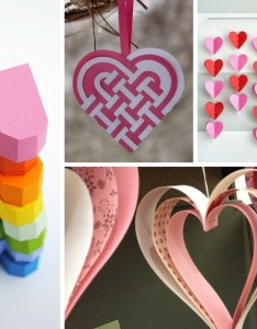 easy paper heart projects also the crafty blog stalker rh thecraftyblogstalker