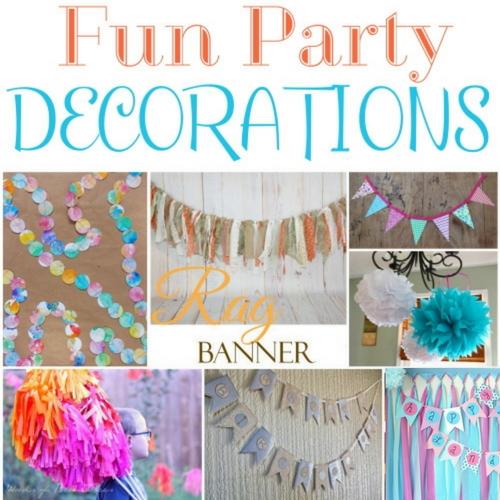 33 Easy Ideas for DIY Party Decor