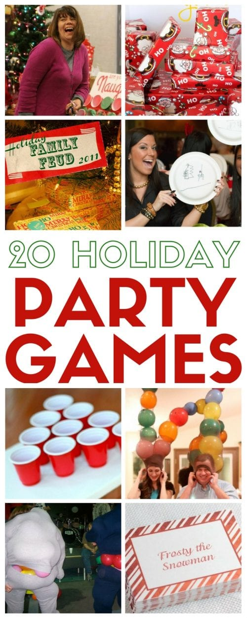20 party games for