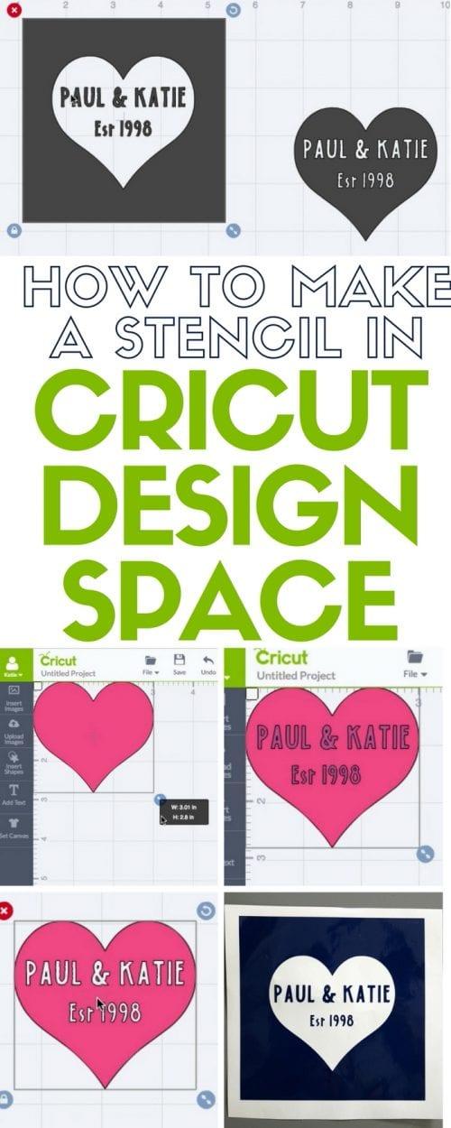 How To Create A Stencil On Cricut : create, stencil, cricut, Stencil, Cricut, Design, Space, Crafty, Stalker