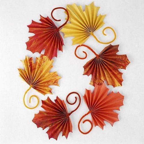 20 Craft Ideas With Fall Leaves The Crafty Blog Stalker