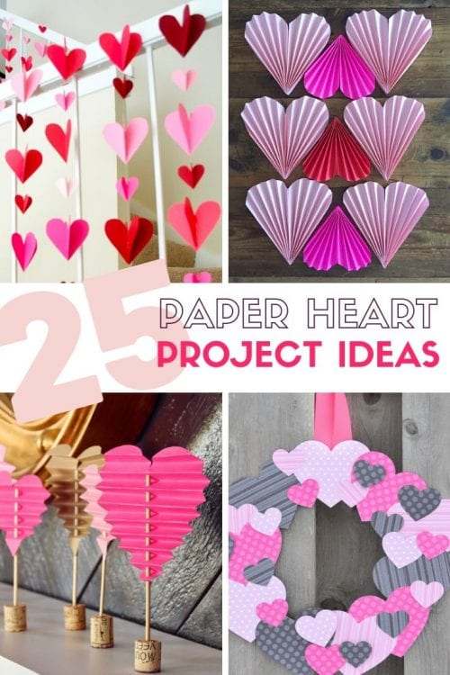 25 Easy Paper Heart Project Ideas The Crafty Blog Stalker