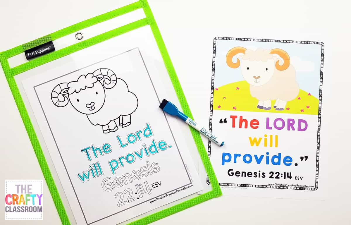 Free Abraham Preschool Bible Printables