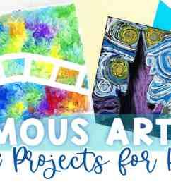 Famous Artist Crafts [ 705 x 1200 Pixel ]