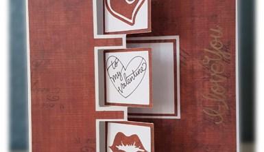 Valentine's Day Card - Triple Flip