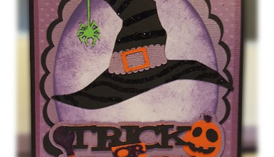 Halloween Card - Witch's Hat