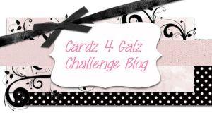 Cardz 4 Galz Challenge Blog