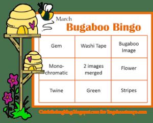March Bugaboo Bingo