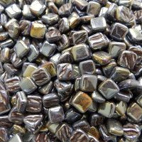 8mm Square Tiles - Treacle Toffee Pearlised - 50g