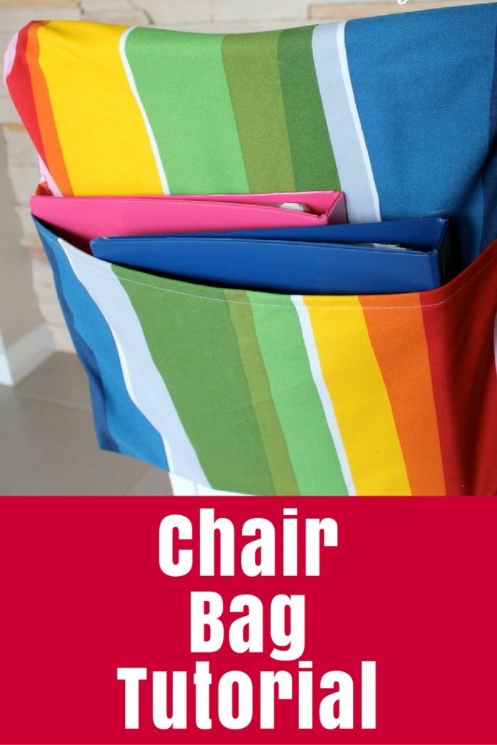 diy classroom chair covers swivel parts uk bag tutorial the crafty mummy sew a to hang on back of with this