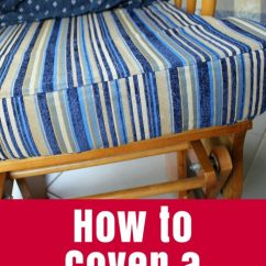 Sewing Patterns For Chair Cushions Folding White How To Cover A Cushion The Crafty Mummy Step By Tutorial On New