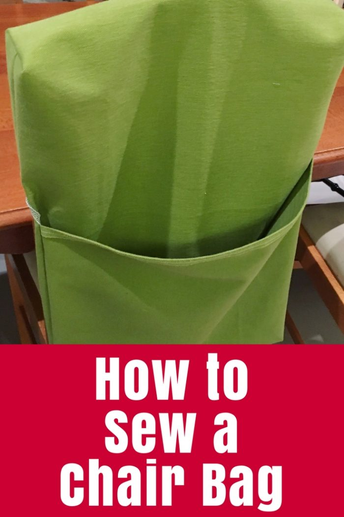 How to Sew a Chair Bag  The Crafty Mummy