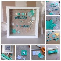 DIY personalised baby gift  The Crafty Mummy