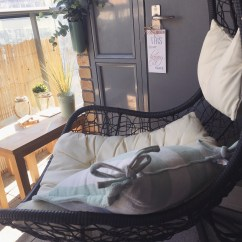 Swing Chair Homestore Covers Rental Dublin Diy Budget Balcony Makeover  The Crafty Mummy