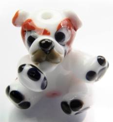 9. Izzy beads british bulldog