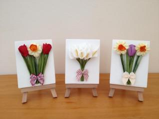Cute on Canvas Flowers