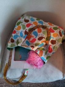 Made by FeeFee knitting bag