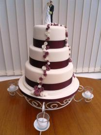 Penny Wishes Creations wedding cake