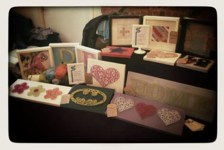 Sian Rudkin Crafts stall