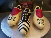 Chocolate Football boots