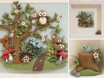10. Shelly Belle forest animals