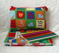 13. Handmade by Edwina pencil case and sketchbook