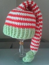 3. Craigloves2crochet jingle bells hat